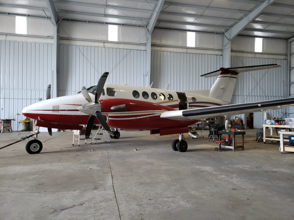 king air 200 redesign