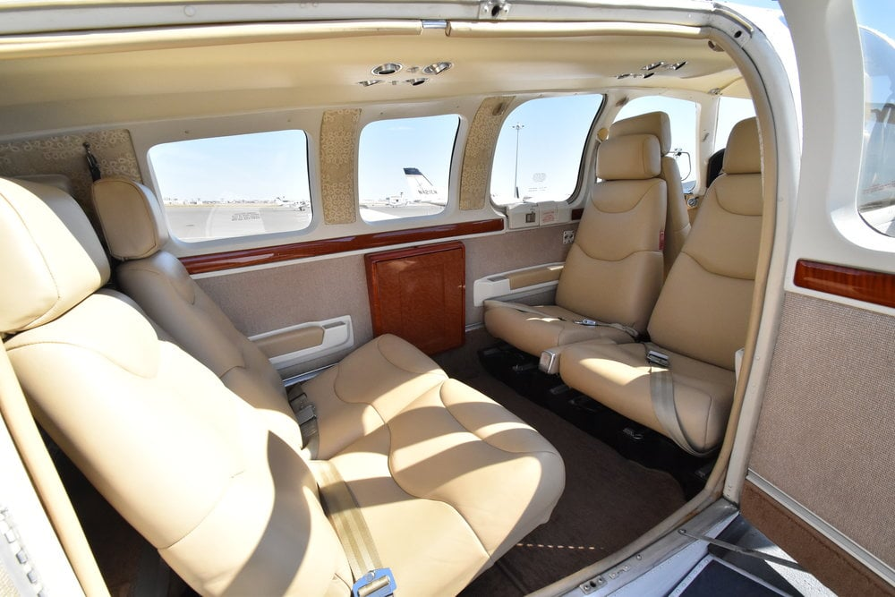 Aircraft Interior Beechcraft