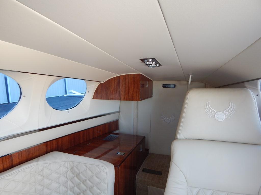 custom aircraft interior